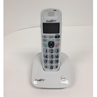 Clarity Dect 6.0 Amplified/Low Vision Cordless Phone With CID Display White