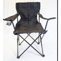 Ozark Trail Folding Deluxe Arm Chair Black