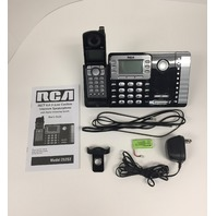 RCA 25252 Dect 6.0 2-line Cordless Speakerphone Answering Machine