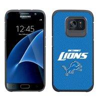 NFL DETROIT LIONS Football Pebble Grain Feel Samsung Galaxy S7 Case-BLUE