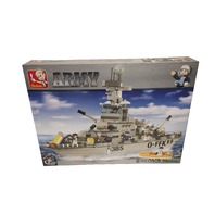 Sluban Sea Marine Cruiser Building Block Construction Set - 577 Pcs