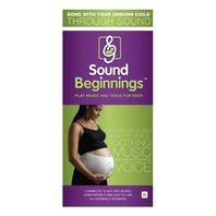 Sound Beginnings The Best Way to Share Music with  the Baby - White