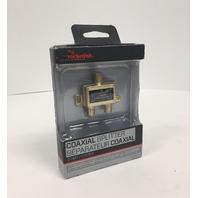 Rocketfish Coaxial Splitter - 2 Way - RF-G1307-C