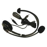 Midland 22540 Headset Speaker with Boom Microphone