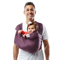 Baby K'tan Baby Carrier, Eggplant, Medium