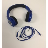 JBL E30 Blue High-Performance On-Ear Headphones with JBL Pure Bass  Blue