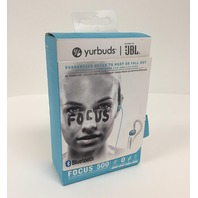 Yurbuds Focus 500 Women's In-Ear Wireless Bluetooth Sport Headphones - Aqua