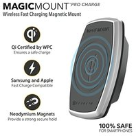 Scosche Magic Mount Pro Charger Qi Wireless Devices Apple iPhone 8   10 /samsung