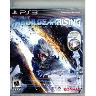 Metal Gear Rising: Revengeance -  Exclusive Instrumental Soundtrack (PS3)