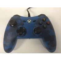 PDP Wired Controller Xbox One & PC - Blue Camo