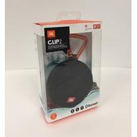 JBL - Clip2 Portable Bluetooth Speaker - Black