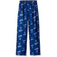 MLB Boys 4-7 Royals Sleepwear All Over Print Pant, M(5-6), Deep Royal