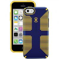 Speck SPK-A3018 Apple iPhone 5C CandyShell Grip Case, Blue/Yellow
