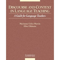 Discourse and Context in Language Teaching A Guide for Language Teachers