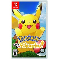 POKEMON LETS GO PICKACHU - SWITCH by Nintendo - SEALED