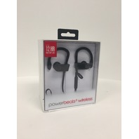 Apple Beats Powerbeats3 Wireless Black In Ear Headphones MNN02LL/A
