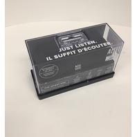 Altec Lansing - Jacket H2o Portable Bluetooth Speaker - Black