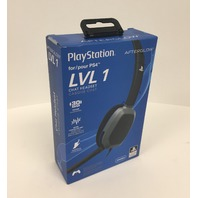 Afterglow - Lvl 1 Communicator Wired Gaming Headset For Playstation 4 - Black