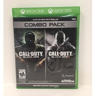 Call of Duty Black Ops 1 & 2 Combo Pack (X360) (SEALED)