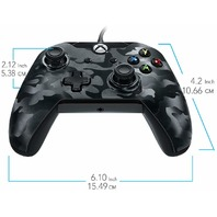 Pdp Stealth Series Wired Controller for Xbox One - Phantom Black