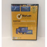 Norton Small Business, For PC/Mac/Mobile, For 5 Devices With Key Card - SEALED