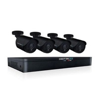 Night Owl 1080P HD Wired Security System Black
