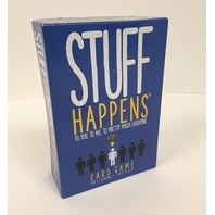 STUFF HAPPENS Card Game Goliath Games 2  Players Ages 13