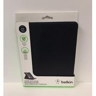 Belkin Cinema Leather Folio with Stand for iPad 2, 3, 4 - Black