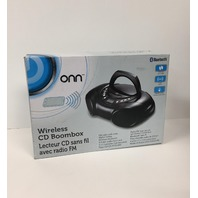 Onn Wireless CD Boombox