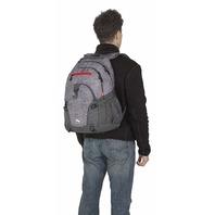 High Sierra Loop Backpack, Woolly Weave/Mercury/Crimson