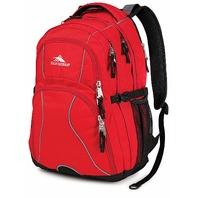 High Sierra Swerve, 17-in. Laptop Backpack - Crimson/Black