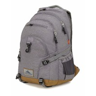 high sierra super loop backpack, charcoal heather/charcoal
