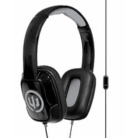 Wicked Audio Sentinel Over-ear Headphones W/ Microphone - Black