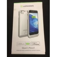Lenmar - Maven External Power Case For Apple iPhone 6 - Silver