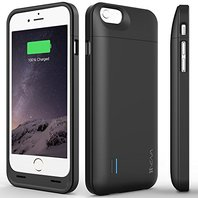 Vena Zeus Case 3000mAh Certified Battery Case for iphone 6 black