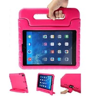 Mocreo funcase iPad AIR/AIR2 Light Weight Convertible Handle Stand KiDs pink