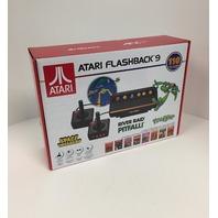Atgames Atari Flashback 9 Classic Gaming Console Black