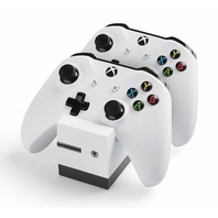 Snakebyte Xbox One Twin:Charge X (White)