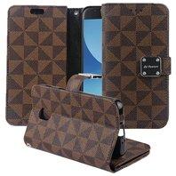 El Lumiere Premium Smartphone Case -Samsung Galaxy J3 - Brown