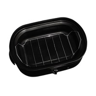 Oster Roaster Oven With Self-Basting Lid, 18 Quart, Black (Ckstrs18-Bsb-W)