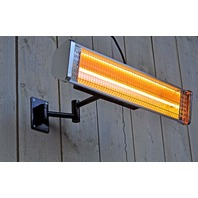 Sunred US-HWM15 Halogen Heater, Stainless Steel