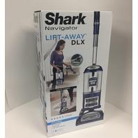 Sharkninja Navigator Lift-Away Deluxe NV360 Upright Vacuum, Blue