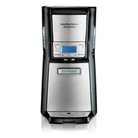 HB Coffee Maker with 12 Cup Capacity & Internal Storage Coffee Pot, Brewstation