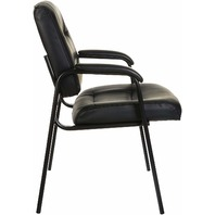 Amazon Basics Guest Chair, Black