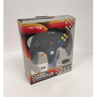Retro-Link Wired N64 Style USB Controller for PC & Mac, Black
