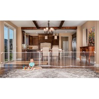 Regalo 192-Inch Super Wide Adjustable Baby Gate And Play Yard, 4-In-1