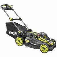 Ryobi RY40190 20 In. 40-Volt Lithium-Ion Cordless Self Propelled Lawn Mower