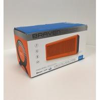Braven - 805 Portable Bluetooth Speaker - Orange/gray