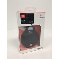 JBL Clip Portable Bluetooth Speaker With Mic (Black)