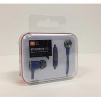 Jbl E10blu Synchros In-Ear Headphones With Mic (Blue)